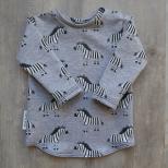 Picture of grijs shirt Zebra maat 56