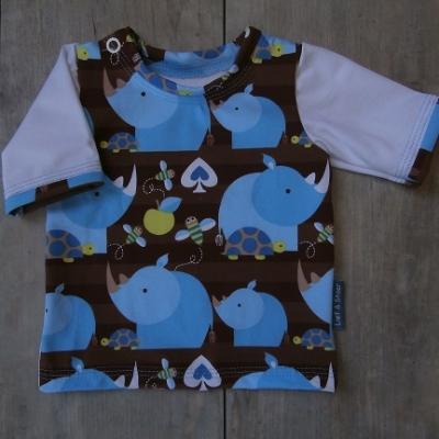 Picture of shirt Neushoorn maat 56