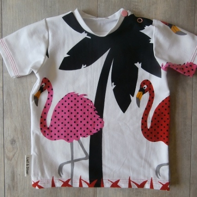Picture of shirt Flamingo maat 68