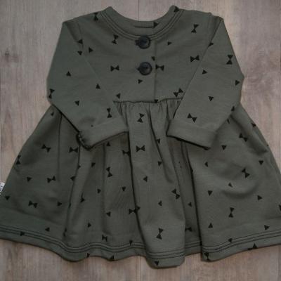 Picture of legergroene jurk maat 56