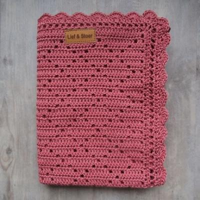 Picture of gehaakte deken Brick