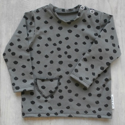 Picture of groen shirt Dot maat 62