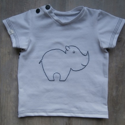Picture of shirt Neushoorn maat 62