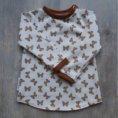 Picture of shirt vlinder maat 56